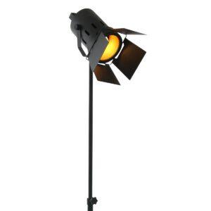 Vloerlamp Mexlite Carré Zwart 1577ZW-1577ZW