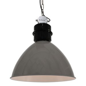 Hanglamp Anne Light & home Frisk Grijs 7696GR-7696GR