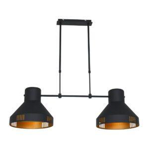 Hanglamp Mexlite Evy Zwart 2568ZW-2568ZW