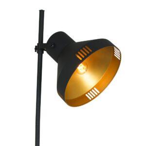 Vloerlamp Mexlite Evy Zwart 2569ZW-2569ZW